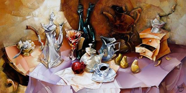 Израильский художник. Nathan Brutsky 23