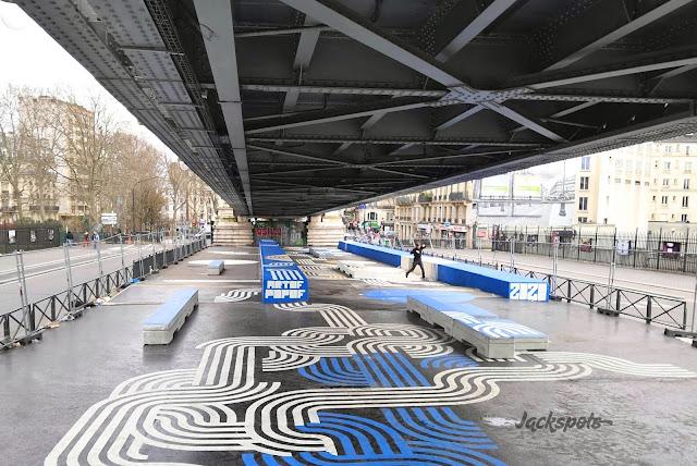 Nouveau skatepark paris barbès chapelle