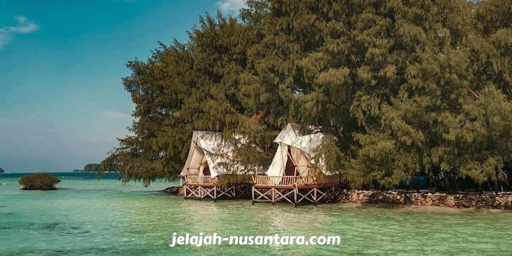 destinasi wisata pulau harapan