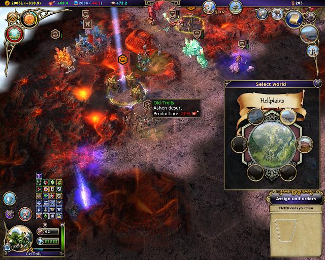 Trolls | Warlock - Master of the Arcane screenshot