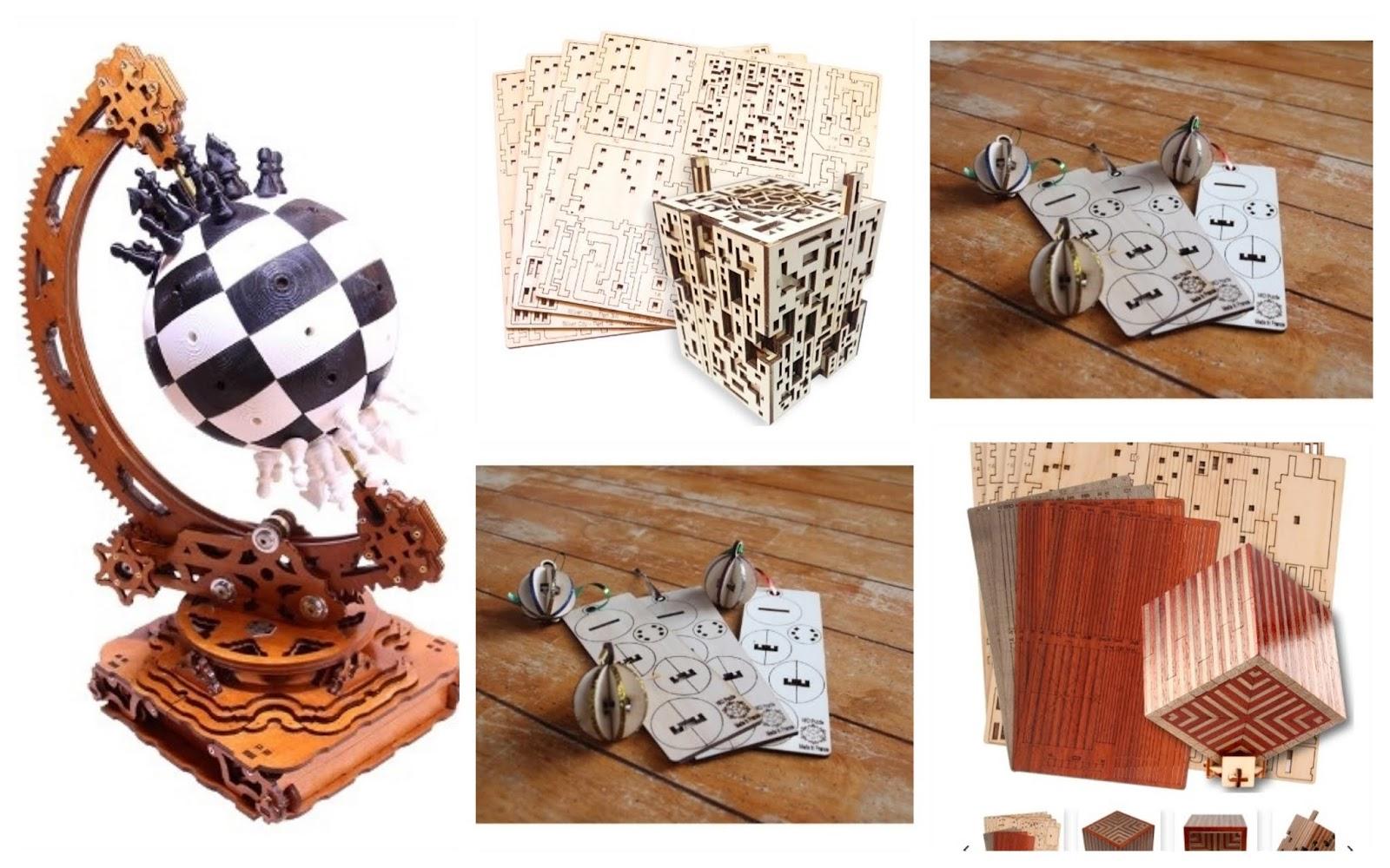 cadeaux en bois