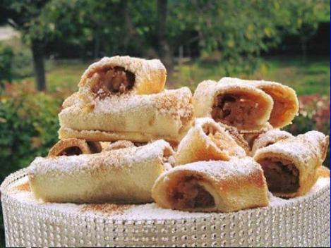 Μηλοπιτάκια με ψωμί του τοστ