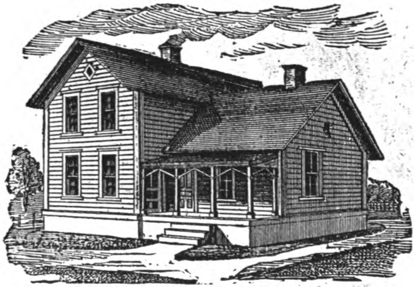 19th Century Historical Tidbits: 1895 Rural House Plans 2