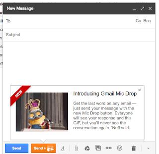 Gmail Mic Drop, un poisson d'avril  qui tourne (très) mal, A Unix Mind In A Windows World