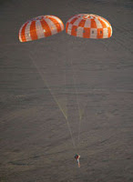 Orion Parachute Testing