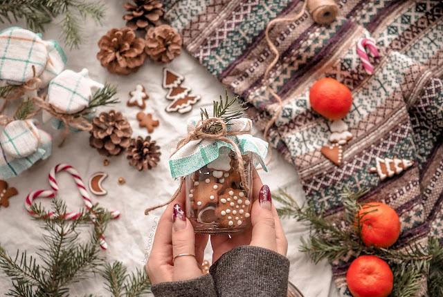 Własnoręczny prezent na święta | Słodki upominek