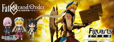 Fate/Grand Order en sus lineas Figuarts ZERO y Figuarts mini