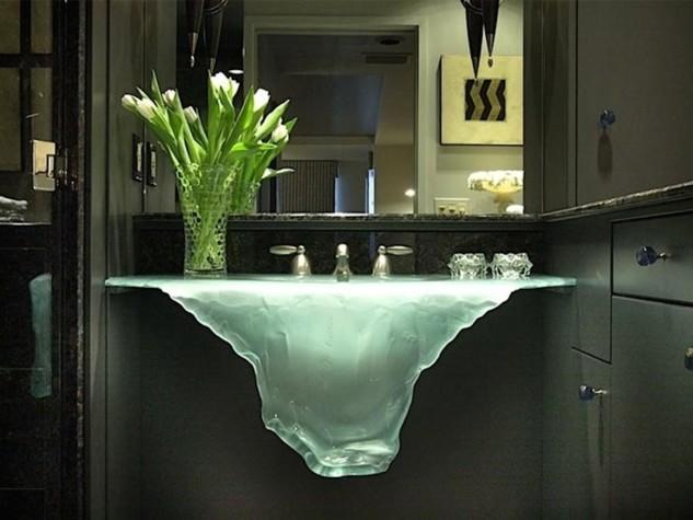 Melting Ice Sink! Home Decor