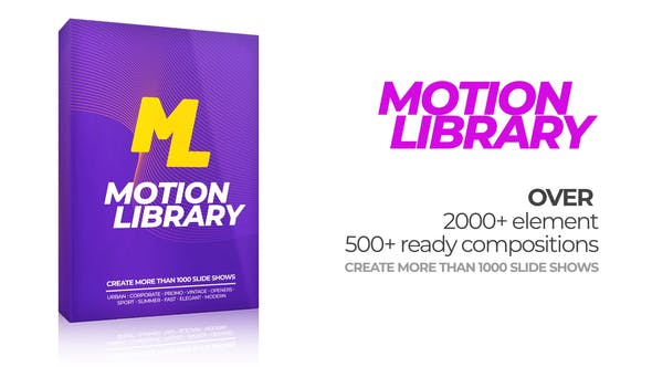 Motion Library Pack[Videohive][After Effects][22380487]