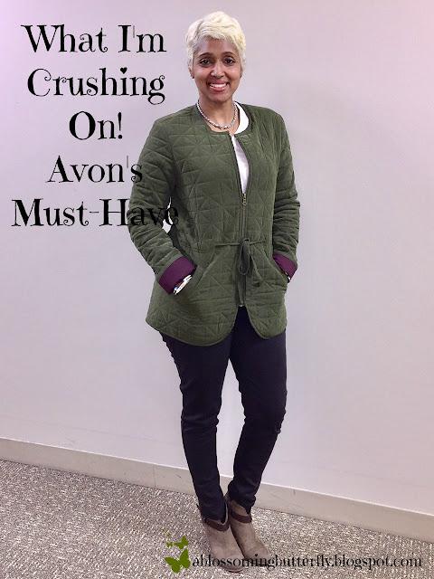 Avon, Avon Representative, Fashion, Life Style, Trendiness, Jacket