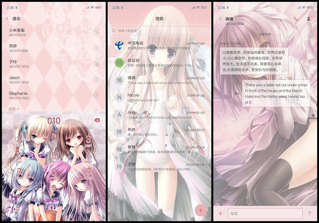 Tema Anime Xiaomi Ro-Kyu Bu