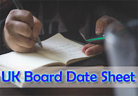 Uttrakhand Board 10th Time Table 2018