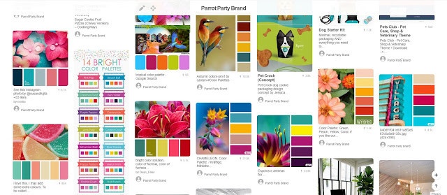 Using Pinterest for branding: colour