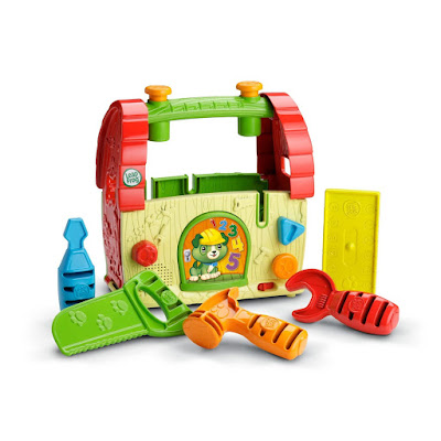 LeapFrog Scout's Build and Discover Tool Set  #HolidayGiftGuide