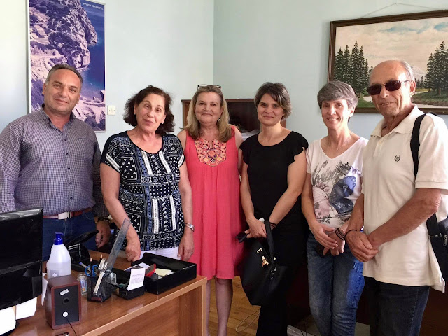 Συνάντηση Αθηνάς Κόρκα με μέλη του Πολιτιστικού Συλλόγου Επιδαύρου