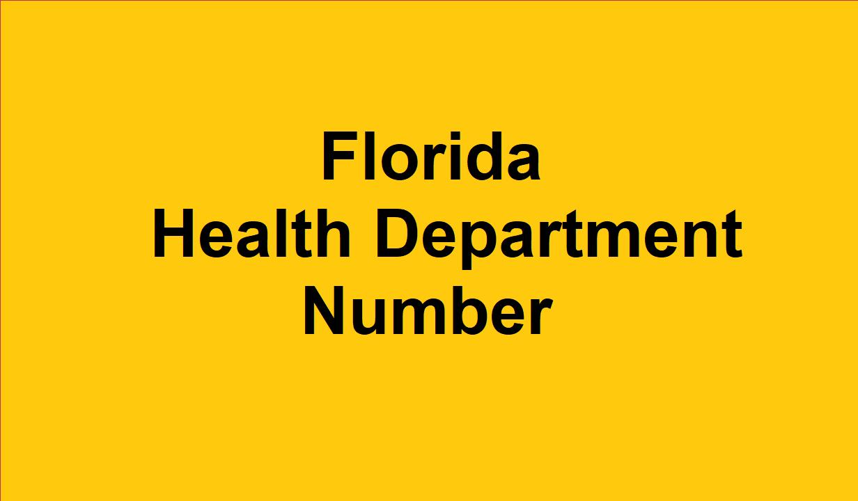Florida Health Department Phone Number