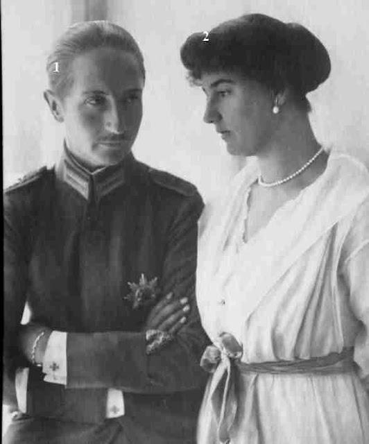August Wilhelm von Preußen-seiner Frau
