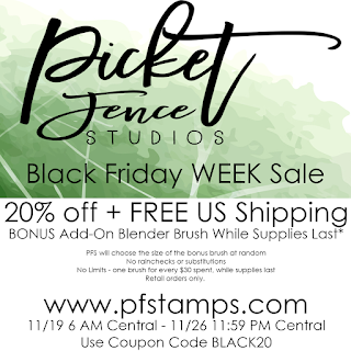 Picket Fence Studios - Black Friday Sale