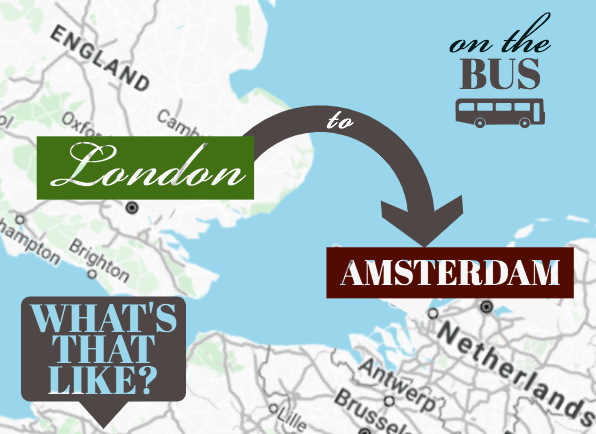 london to amsterdam bus