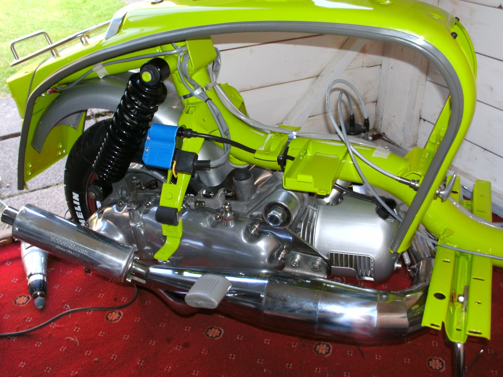 Lambretta Wiring Diagram With Indicators Bennett Trim Tab Helix 150cc Engine Free Image For User
