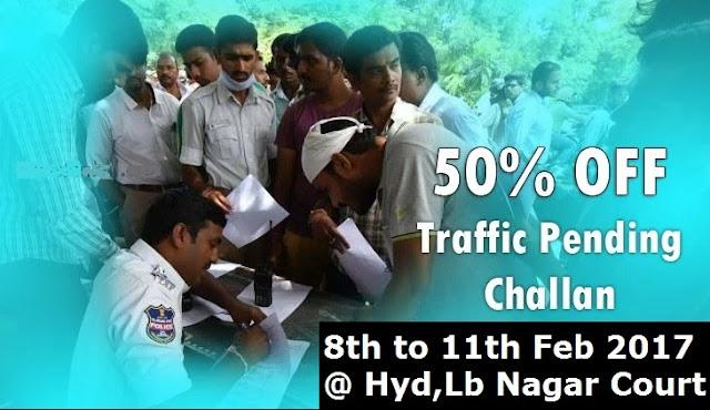 Telangana Traffic Police Mega Lok Adalat