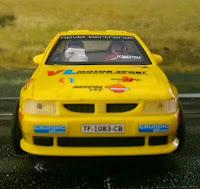 Scalextric Seat Ibiza Kit-Car VL Motor Sport