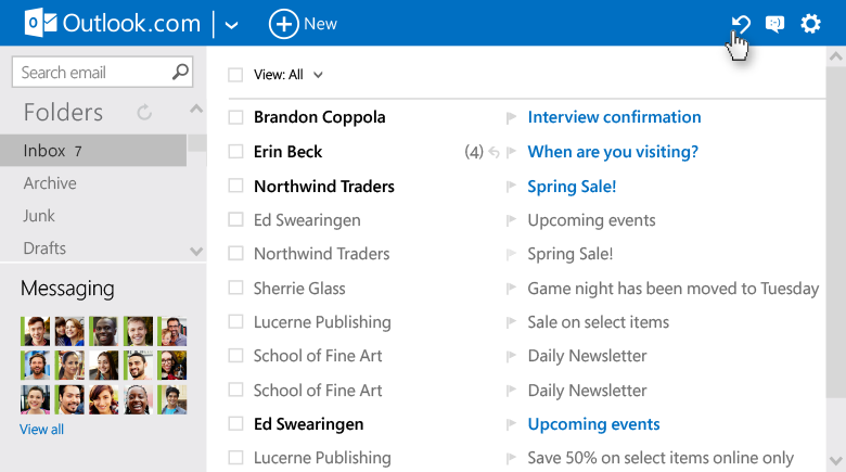 Outlook.com adds new features, new features, Outlook new features, Outlook.com, Microsoft outlook support, internet,