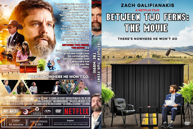 Between Two Ferns: The Movie DVD Cover