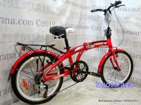 Sepeda Lipat Pacific 20-2980-TX Rangka Aloi 20 Inci 2