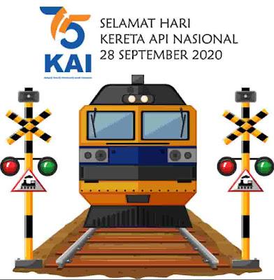 hari kereta api nasional 2020