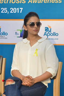 Actress Rakul Preet Singh at Endometriosis Awareness Walk at Apollo Cradle  0100.jpg