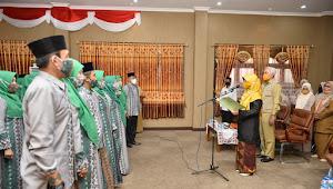 Ketua DPW NTB Lantik Pengurus Lasqi Kabupaten Bima