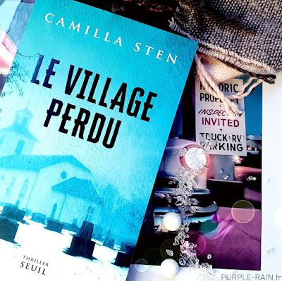 Blog PurpleRain - Livre : Le village perdu •• Camilla Sten