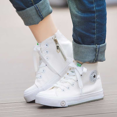 White Sneakers- fashion essentials for girls