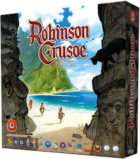 Robinson Crusoe el  juego de mes