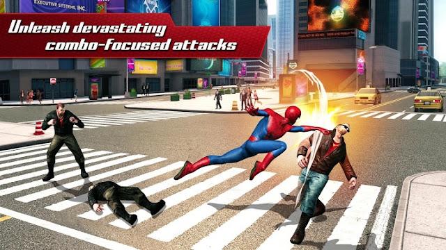 The Amazing Spider Man 2 MOD APK DATA [Unlimited Money]