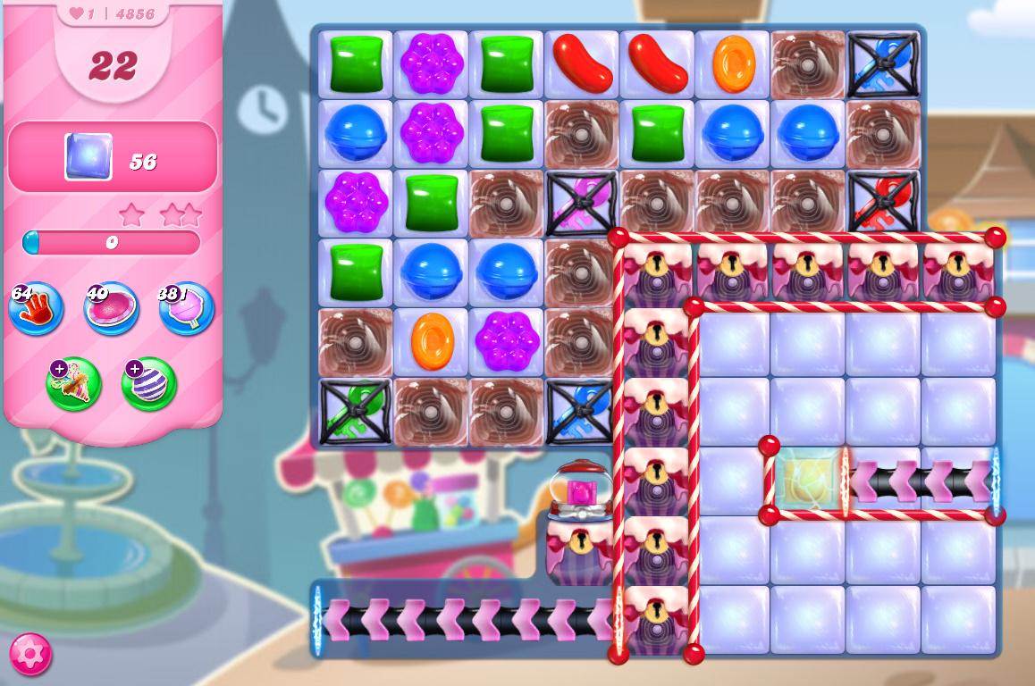 Candy Crush Saga level 4856