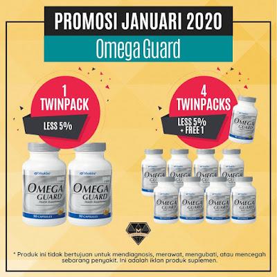 Promosi Shaklee Januari 2020 - Omega Guard