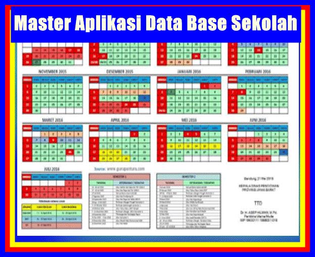 Download Master Aplikasi Data Base Sekolah Format Terbaru 2017/2018