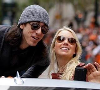 Tim Lincecum And His Girlfriend