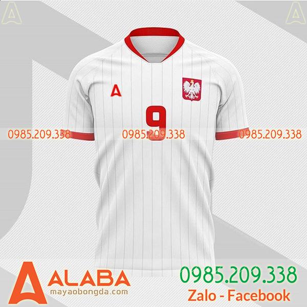 Quần áo bóng đá màu trắng đẹp giá rẻ