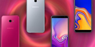 Layar Samsung Galaxy J6+