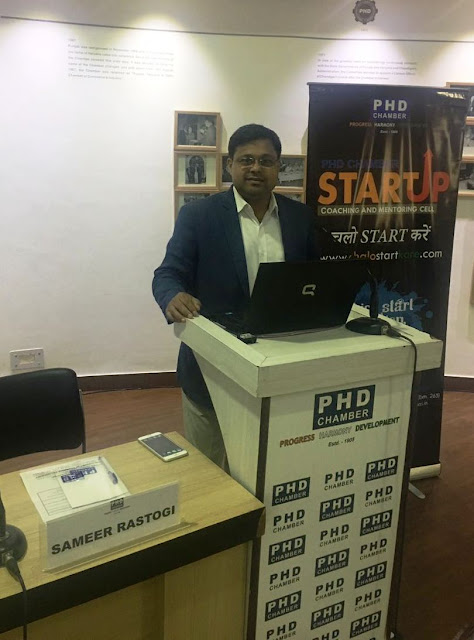 """Kick Start Session"" a Master Classes for Start-ups at PHD"