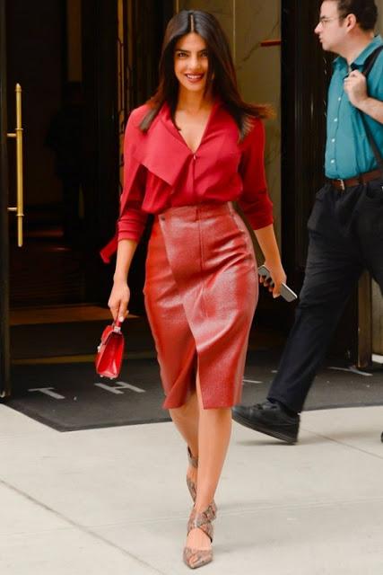 Модные образы яркой одежды 10