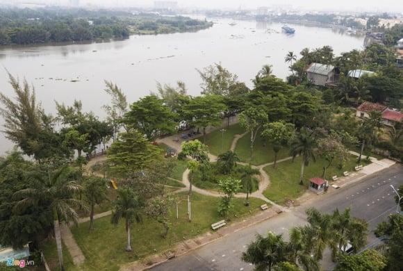 Biệt thự ở Thảo Điền bịt kín lối ra bờ sông Sài Gòn ảnh 19