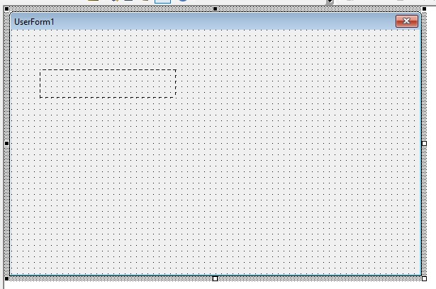 Left click and drag to form a rectangle