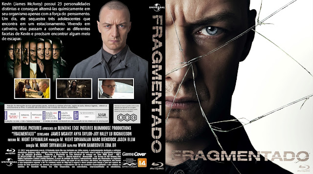 Capa Bluray Fragmentado [Exclusiva]