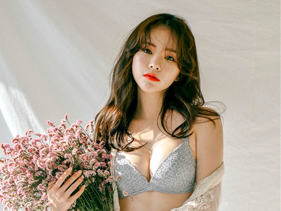 Haneul-Haneul Lookbook - 20191209 - 3 set Korean Lingerie photoshoot - TruePic.net