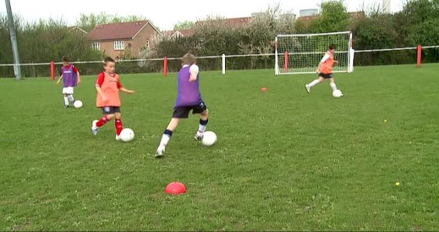 football techniques.