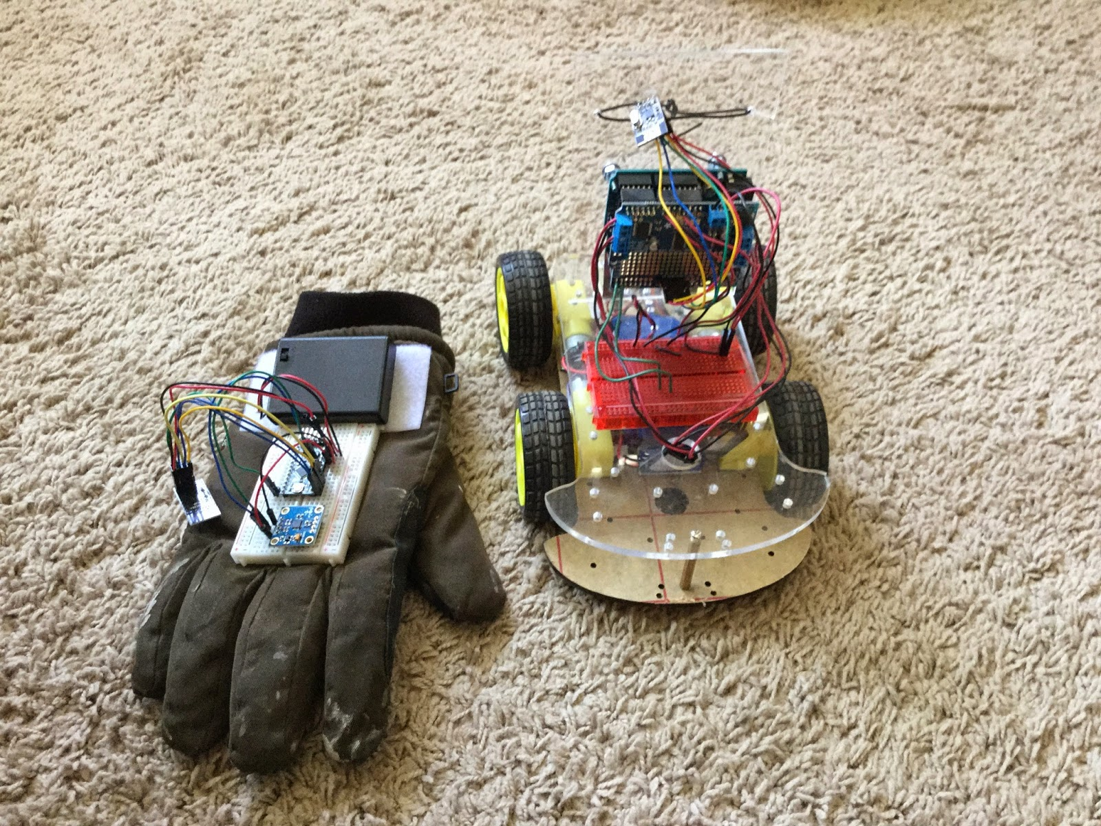 ForceTronics: nRF24L01 / Accelerometer RC Car
